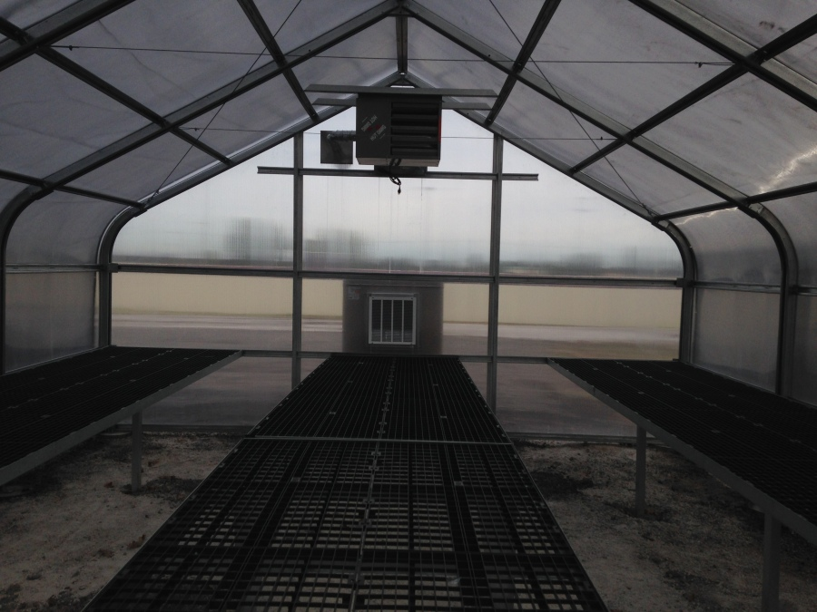 Warner HS Greenhouse Interior