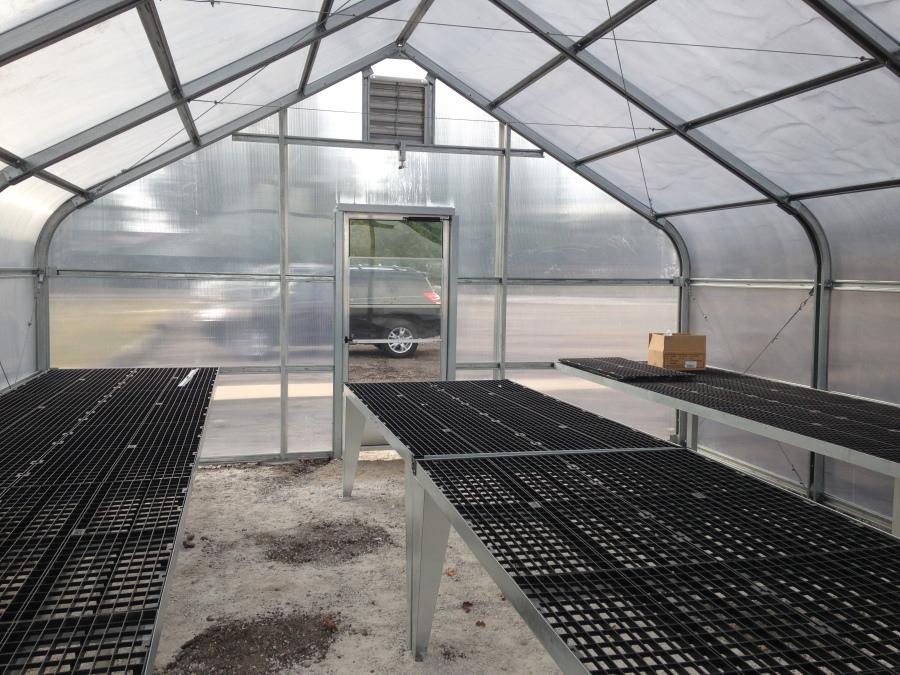 Warner HS Greenhouse Interior